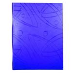 Папка файловая Бюрократ Galaxy, A4, на 20 файлов, синяя