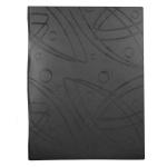 Папка файловая Бюрократ Galaxy черная, A4, на 20 файлов, GA20BLCK