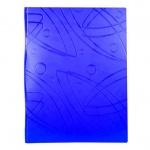 Папка файловая Бюрократ Galaxy синяя, А4, на 60 файлов, GA60BLUE