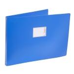 Папка на 4-х кольцах А3 Бюрократ 0827GA3, 27 мм, синяя