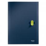 Папка-органайзер Leitz ReCycle темно-синяя, А4, 5 разделов, 46240069