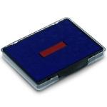 Сменная подушка прямоугольная Trodat для Trodat 54110/54510, синяя-красная, 6/511/2