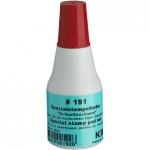 Штемпельная краска универсальная Noris 25 мл, красная, универсальная