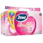 Туалетная бумага Zewa Exclusive Ultra Soft без аромата, белая, 4 слоя, 8 рулонов, 150 листов, 18.75м