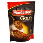 Кофе растворимый Maccoffee Gold 150г, пакет