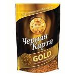 Кофе растворимый Черная Карта Голд 285г, пакет
