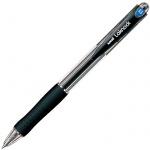 Ручка шариковая автоматическая Uni Laknock SN-100 66269, 0.5мм, черная