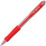 Ручка шариковая автоматическая Uni Laknock SN-100 66269, 0.5мм, красная