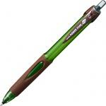 Ручка шариковая автоматическая Uni Powertank SN-220 черная, 1мм