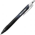 Ручка шариковая автоматическая Uni Jetstream SXN-150RT черная, 1мм, черный корпус