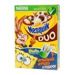 Готовый завтрак Nesquik Duo шоколадные шарики, 375г