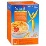 Хлопья Nordic 4 вида зерновых с отрубями, 600г