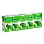 Носовые платки Zewa Plus Mix 10уп х 10шт, 3 слоя