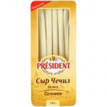 Сыр President Чечил, белый, 40%, 150г, соломка