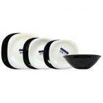 Набор посуды Luminarc Carine Modern черно-белый, 19 предметов