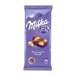 Шоколад Milka молочный с белым, 90г