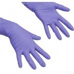 Перчатки нитриловые Vileda Pro ЛайтТафф M, сиреневые, 137976