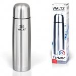 Термос с узким горлом Waltz 1л, нержавеющая сталь