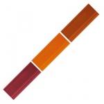Мелок для мебели Edding 8901, 3 цвета, для маскировки трещин на деревянных поверхностях, вишня