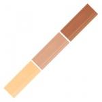 Мелок для мебели Edding 8901, 3 цвета, для маскировки трещин на деревянных поверхностях, бук/клен