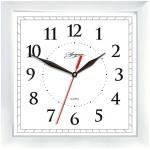 Часы настенные Apeyron, 20х20 см, квадратные, белые