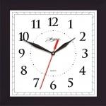 Часы настенные Apeyron черные, 20х20 см, квадратные, PL 02.001