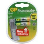 Аккумулятор Gp AAA/HR03, 650мАh, 2шт/уп