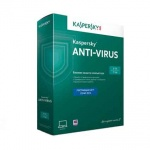 Антивирус Kaspersky Anti-Virus 2 ПК/1 год