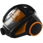 Пылесос с контейнером Scarlett IS-580 1800 Вт, черно-оранжевый