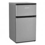 Холодильник двухкамерный Shivaki SHRF-90DP 88л, серебристый, 47.5x49.5x85.2см