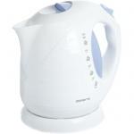Чайник электрический Polaris PWK 2013C белый/голубой, 2 л, 2000 Вт