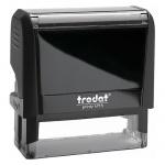 Оснастка для прямоугольной печати Trodat Printy 70х25мм, черная