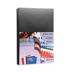 Обложки для переплета картонные ProfiOffice 49002, А4, 250 г/кв.м, черные, 100 шт