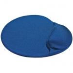 Коврик для мыши Buro синий, с гелевой подкладкой