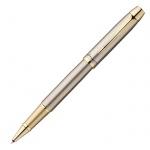 Ручка-роллер Parker IM Premium T223 F, черная, латунь корпус