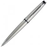 Ручка шариковая Waterman Expert 3 М, синяя, серебристый корпус