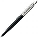 Ручка шариковая Parker Jotter Premium М, синяя, черный корпус