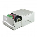Короб для CD/DVD Durable Multimedia Box II серый, на 53/230 дисков, 5257-10