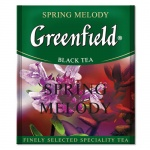 Чай Greenfield Spring Melody (Спринг Мелоди), черный, для HoReCa, 100 пакетиков