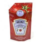 Кетчуп Heinz с чесноком и пряностями, 350г, пакет