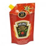 Кетчуп Heinz, 350г, пакет, супер острый