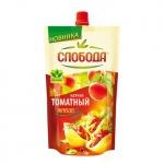 Кетчуп Слобода томатный, пакет, 350г