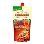 Кетчуп Слобода, пакет, 350г