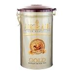 Чай Akbar Gold, черный, листовой, ж/б, 450 г