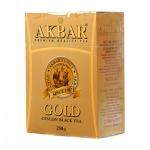 Чай Akbar Gold, черный, листовой, 250 г