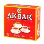 Чай Akbar Classic, черный, 100 пакетиков