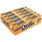Жевательная резинка Dirol, 30уп х 10шт, арбуз/дыня