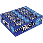 Жевательная резинка Dirol, 30уп х 10шт, морозная мята