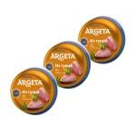 Паштет рыбный Argeta из тунца, 3шт х 95г