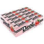 Жевательная резинка Dirol, 30уп х 10шт, клубника